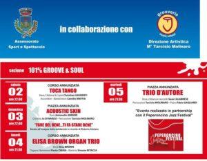 Elisa Brown Organ Trio @ 101% Groove & Soul - Marano Marchesato
