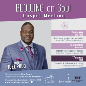 Blowing On Soul Gospel Choir with Joel Polo @ Piazza Duomo , Cosenza