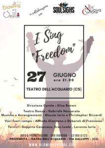 """I Sing Freedom"" - Soul Singin @ Teatro dell'Acquario"